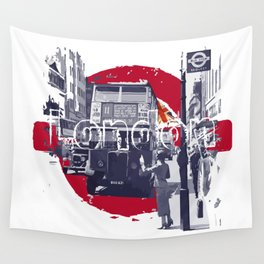 London 1930s Wall Tapestry