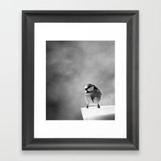 Mr cute Framed Art Print
