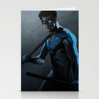 nightwing Stationery Cards featuring Nightwing by Yvan Quinet