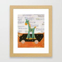 Going For A Ride Framed Art Print