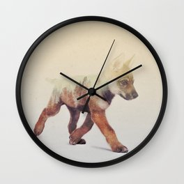 Little Ones: Wolf V3 Wall Clock
