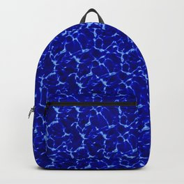 Hyperlink Deep Blue – '90s Water Graphics Backpack