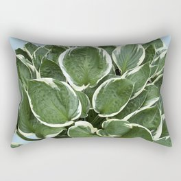 Cascade of Leaves Rectangular Pillow