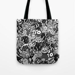 gothic lace Tote Bag