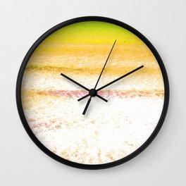 Yellow Sea Wall Clock
