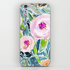Ballerina Blow Out Floral iPhone & iPod Skin