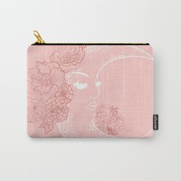 Honey and the Moon Carry-All Pouch