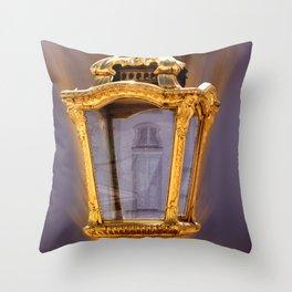 Castle Nympfenburg Munich : The golden Lantern Throw Pillow