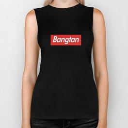 BTS Bangtan Box Logo Biker Tank