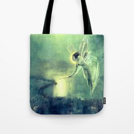 Spirit Of the Night by John Atkinson Grimshaw Tote Bag