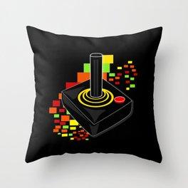 Retro Joystick Throw Pillow