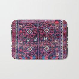 Baluch Khorasan Northeast Persian Rug Print Bath Mat