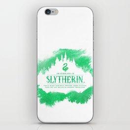Slytherin iPhone Skin