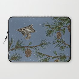 FLYING SQUIRRELS IN THE PINES (twilight) Laptop Sleeve