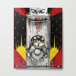 The tortured Templar Metal Print