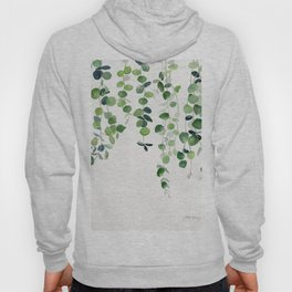 Eucalyptus Watercolor 2  Hoody