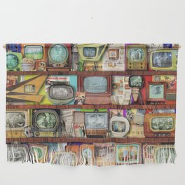 The Golden Age of Television Wall Hanging