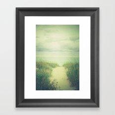 Finding Calm Framed Art Print