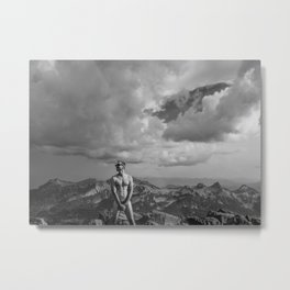 Mountain Son Metal Print