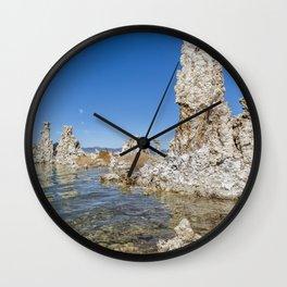 Mono Lake Tufa, No. 1 Wall Clock