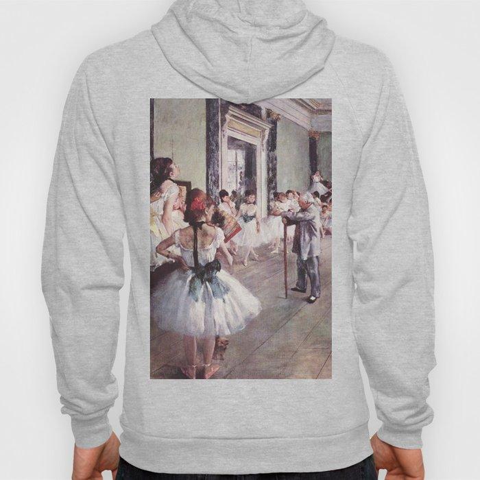 The Ballet Class- Edgar Degas Hoody