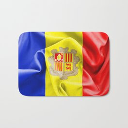 Andorra Flag Bath Mat