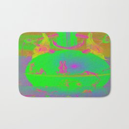 Garden of Earthly Delights - Fountain  Bath Mat