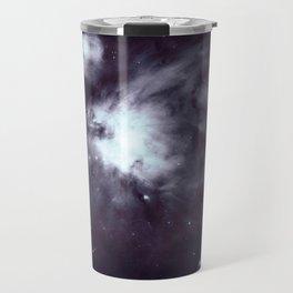 Orion Nebula Pewter Gray Travel Mug