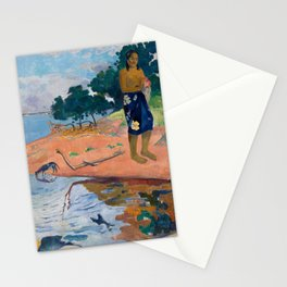 Paul Gauguin - Haere Pape Stationery Cards