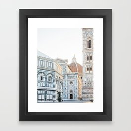 Il Duomo, Florence Italy Photography Framed Art Print