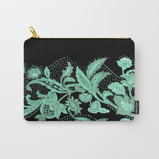 lace stripe Carry-All Pouch