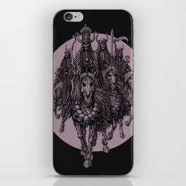 """The four horsemen of the apocalipse"" iPhone Skin"