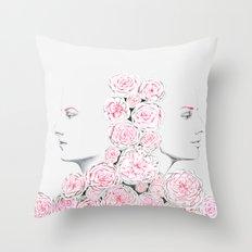 Twins 2 Throw Pillow