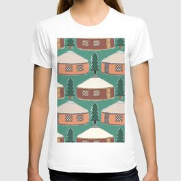 Cozy Yurts -n- Pines T-shirt