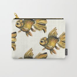 Goldfish On A Mission Carry-All Pouch