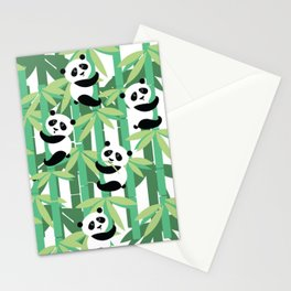 Panda's society Stationery Cards