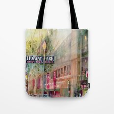 World Series 2013 Fenway Park - Red Sox  Tote Bag
