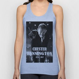 chester bennington Unisex Tank Top
