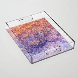 Enchanted Treehouse Acrylic Tray