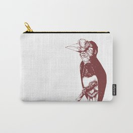 Helmeted Hornbill Carry-All Pouch