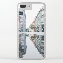 Danish Reflections 3 Clear iPhone Case