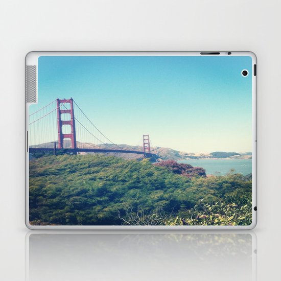 The Golden Gate Laptop & iPad Skin