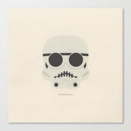 you're a little short for a stormtrooper Canvas Print