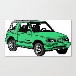 Retro 80s Truck / SUV Canvas Print