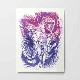 Felis Mortis Metal Print