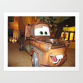 Tow Mater Art Print