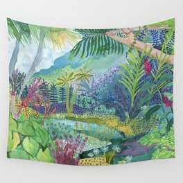 Jungle Paradise Wall Tapestry