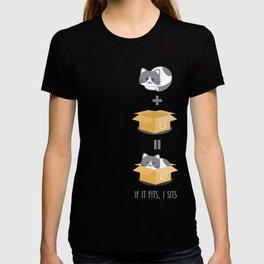 If It Fits, I Sits! T-shirt