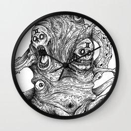 HELL'S ZODIAC - GEMINI Wall Clock