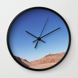 Four-Wheel-Driving Through the Pinks and Blues of Antelope Canyon 03 Wall Clock